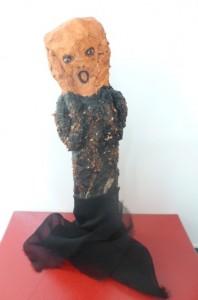 Le cri de Munch et dérivation de Giacometti dans 3D le-cri-11-198x300